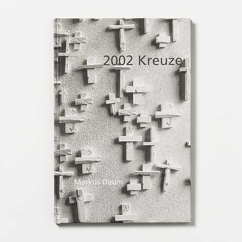 Markus Daum - 2002 Kreuze - Schattenfeld / Katalog zur Installation in der Christuskirche Heilbronn 2002